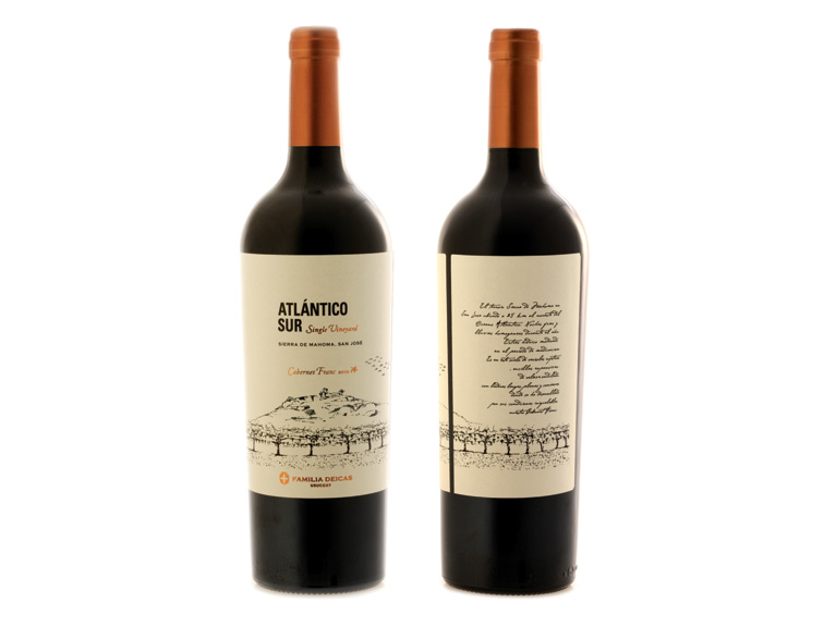 "JUANICÓ Flia. Deicas / ""ATLÁNTICO SUR"" Single Vineyard / Branding & Packaging Design"