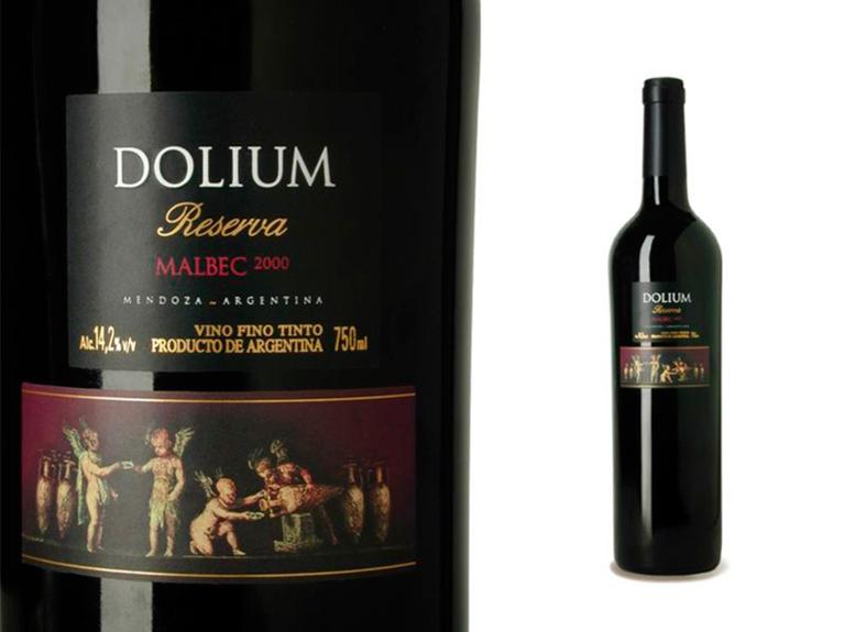 DOLIUM (Argentina) / DOLIUM Reserve Malbec / Packaging Design